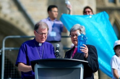 LWF General Secretary Junge Lauds Joint Witness of Canada's Lutherans and Anglicans