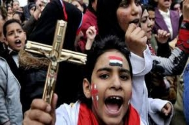 For Egypt's Christian Churches, Western media with their lies help Islamists