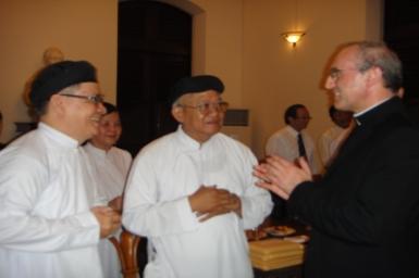 Welcome Speech to H.E. Archbishop Leopoldo Girelli
