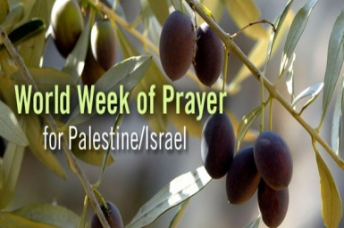 "World Week for Peace in Palestine and Israel: prayers and action for ""just peace"""