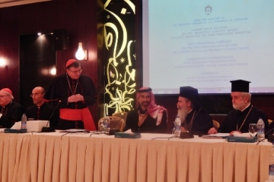 Catholic-Orthodox Commission prays for persecuted brethren