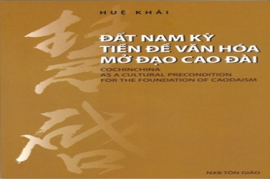 Cochinchina as a cultural precondition for the foundation of Caodaism (1)
