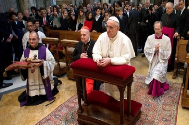 Pope Francis` prayer intentions for April