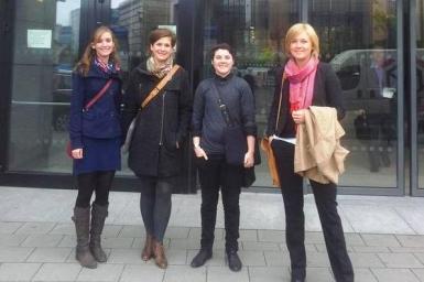 WCC-EAPPI volunteers encourage EU to address Palestine and Israel