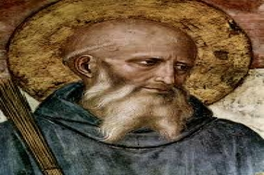 Saint Benedict of Nursia (480-547)