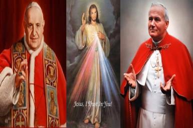 Saints John XXIII and John Paul II: men of courage