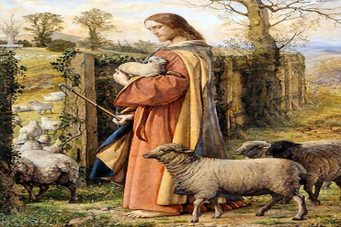 ``The shepherd of the sheep enters by the gate...`` - Monday 4th (B & C) of Easter