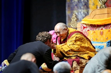 Dalai Lama: Seek riches and you`ll never be satisfied