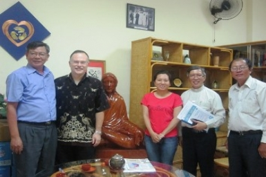 The Visit of the Adventist Church's representative at the Archdiocesan Pastoral Centre