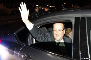Socialist Francois Hollande wins French presidency