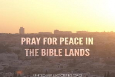 Prayers for peace in Palestine and Israel