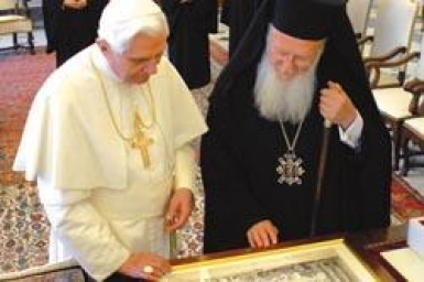 Patriarch Bartholomew: Benedict XVI, friend of the Orthodox
