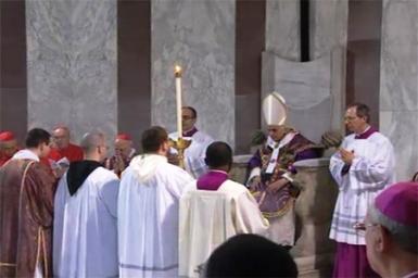 Benoît XVI est entré en Carême