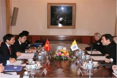 Holy See-Vietnam conclude meeting 2012