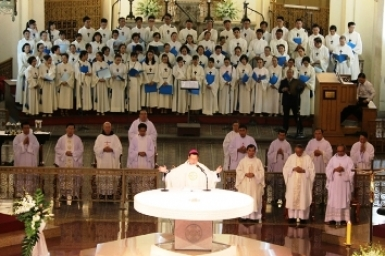 Farewell Thanksgiving Mass for Msgr. Peter Nguyen Van Kham, Auxiliary Bishop of the Archdiocese of Saigon