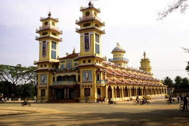 Cao Dai Cathedral (built 1933-55)