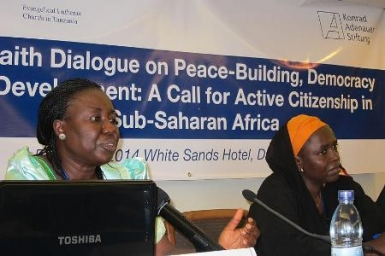 Christian and Muslim Leaders Sign at Dialogue Meeting in Tanzania