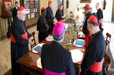 Pope`s third meeting with the Council of Cardinals began