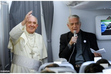 Summary of Pope`s Q-and-A on Return From South America