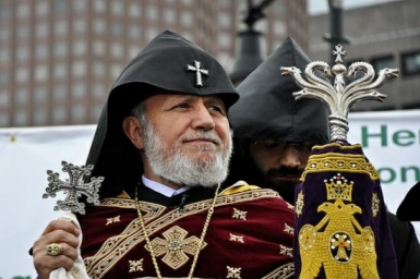 New Year`s message of His Holiness Karekin II