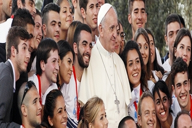 Thousands of couples expected to celebrate Valentine`s Day with Pope Francis