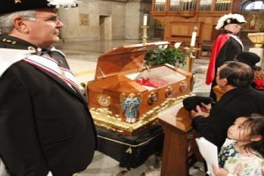 Relics of St. John Neumann visit Washington as one of last tour stops