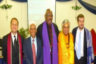Multi-faith prayers held in Reno for Nelson Mandela