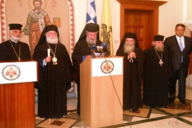 Orthodox Primates Stress Need for Peace and Stability in Middle East
