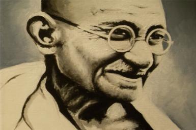 Mohandas Gandhi (1869 - 1948)
