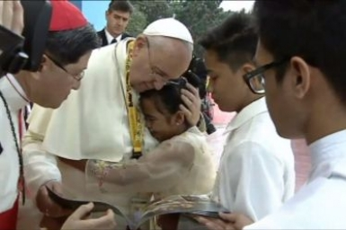 What Pope Francis learned from homeless girl: `Cry with the suffering!`