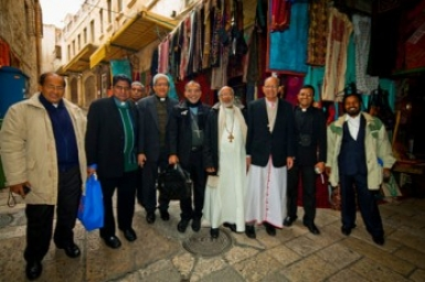Indian Ecumenical Christian Delegation visits Israel to Promote Pilgrimage